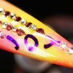 Joy Diamond Rhinestones Foil Nail Design