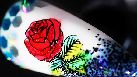 Web_450px_Glittering-Single-Rose-Stamping-Nail-Art