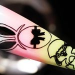 Happy Easter Egg Bunny Stamping Nail Art