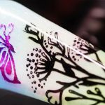 Nature Beauty Butterfly Foil And Stamping Nail Art